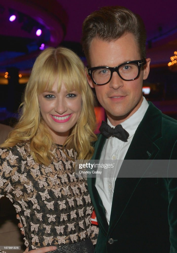 Actress Beth Behrs and TV personality Brad Goreski attends 'Trevor Live' honoring Katy Perry and Audi of America for The Trevor Project held at The Hollywood Palladium on December 2, 2012 in Los Angeles, California.