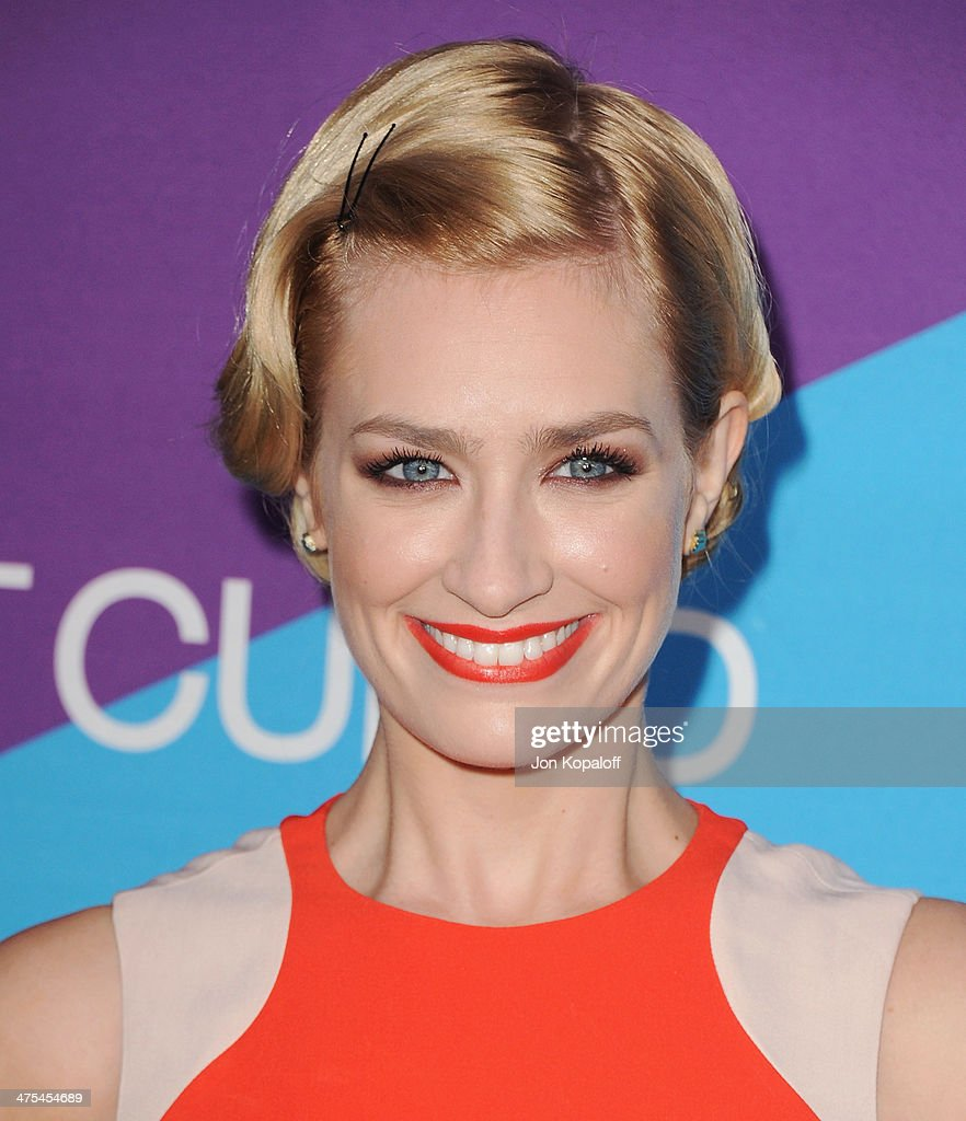 Actress Beth Behrs arrives at Unite4good And Variety Host 1st Annual Unite4:humanity Event on February 27, 2014 in Los Angeles, California.