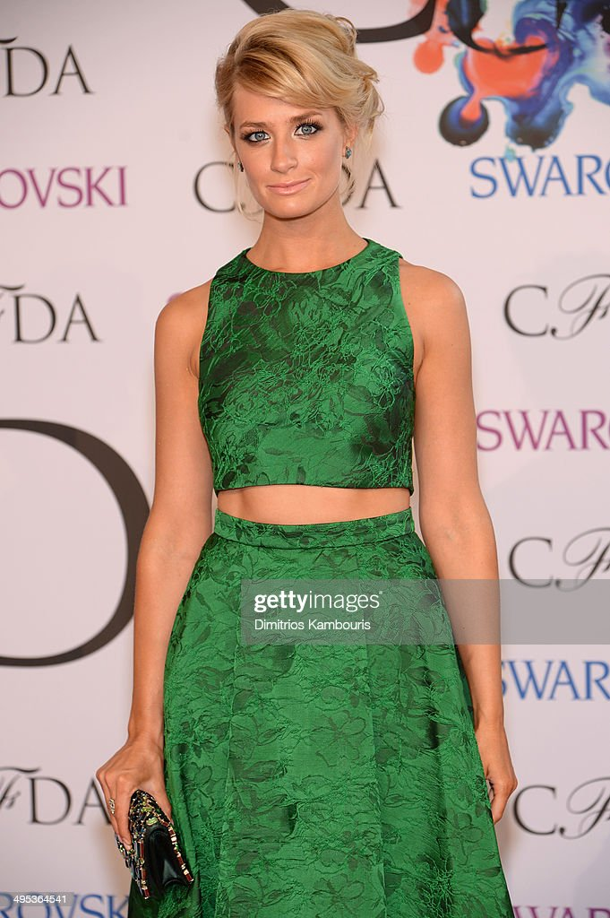 Actress Beth Behrs attends the 2014 CFDA fashion awards at Alice Tully Hall, Lincoln Center on June 2, 2014 in New York City.