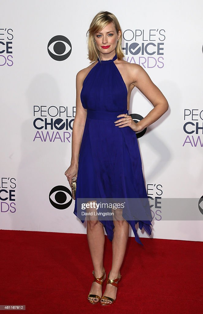 Actress Beth Behrs attends the 2015 People's Choice Awards at the Nokia Theatre L.A. Live on January 7, 2015 in Los Angeles, California.