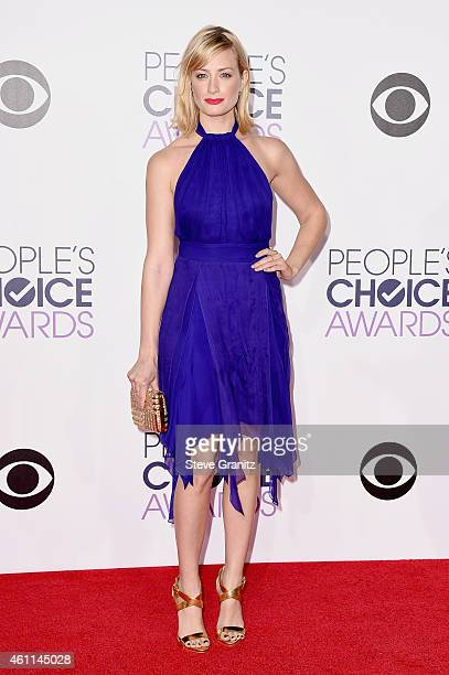 Actress Beth Behrs attends The 41st Annual People's Choice Awards at Nokia Theatre LA Live on January 7 2015 in Los Angeles California