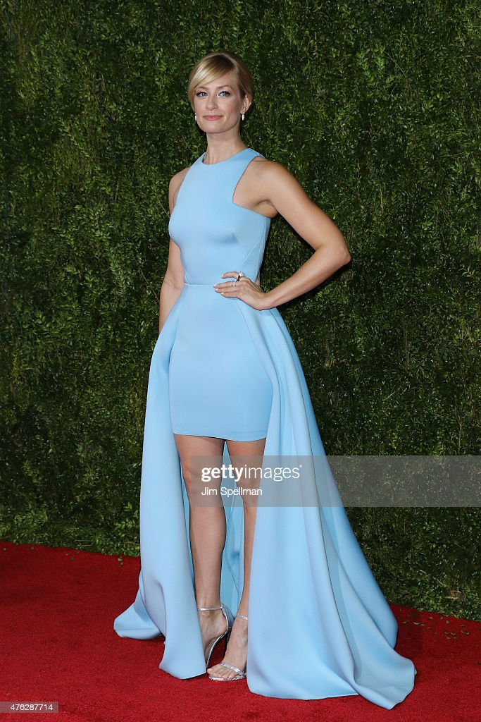 Actress Beth Behrs attends the American Theatre Wing's 69th Annual Tony Awards at Radio City Music Hall on June 7 2015 in New York City