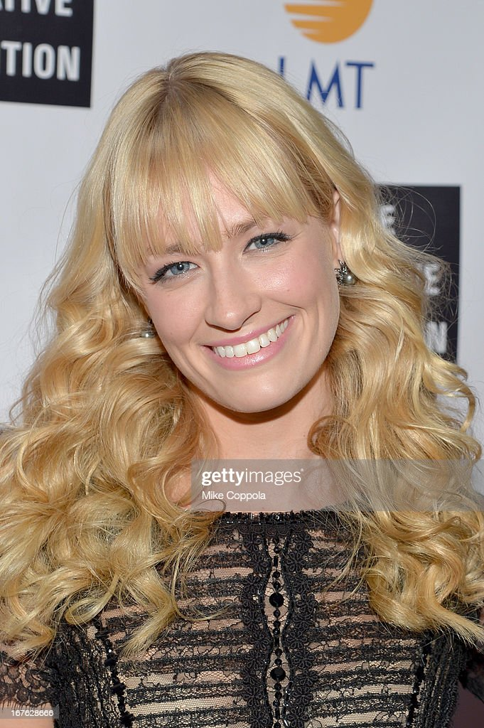 Actress Beth Behrs attends the Celebrating The Arts In American Dinner Party With Distinguished Women In Media Presented By Landmark Technology Inc. And The Creative Coalition at Neyla on April 26, 2013 in Washington, DC.