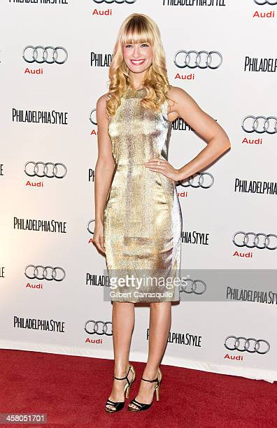 Actress Beth Behrs attends the Philadelphia Style Magazine Holiday Issue Release Party at Trust on December 19 2013 in Philadelphia Pennsylvania