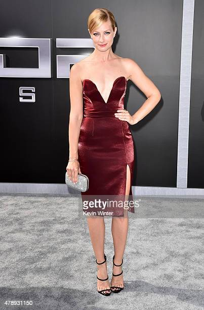 Actress Beth Behrs attends the LA Premiere of Paramount Pictures' 'Terminator Genisys' at the Dolby Theatre on June 28 2015 in Hollywood California