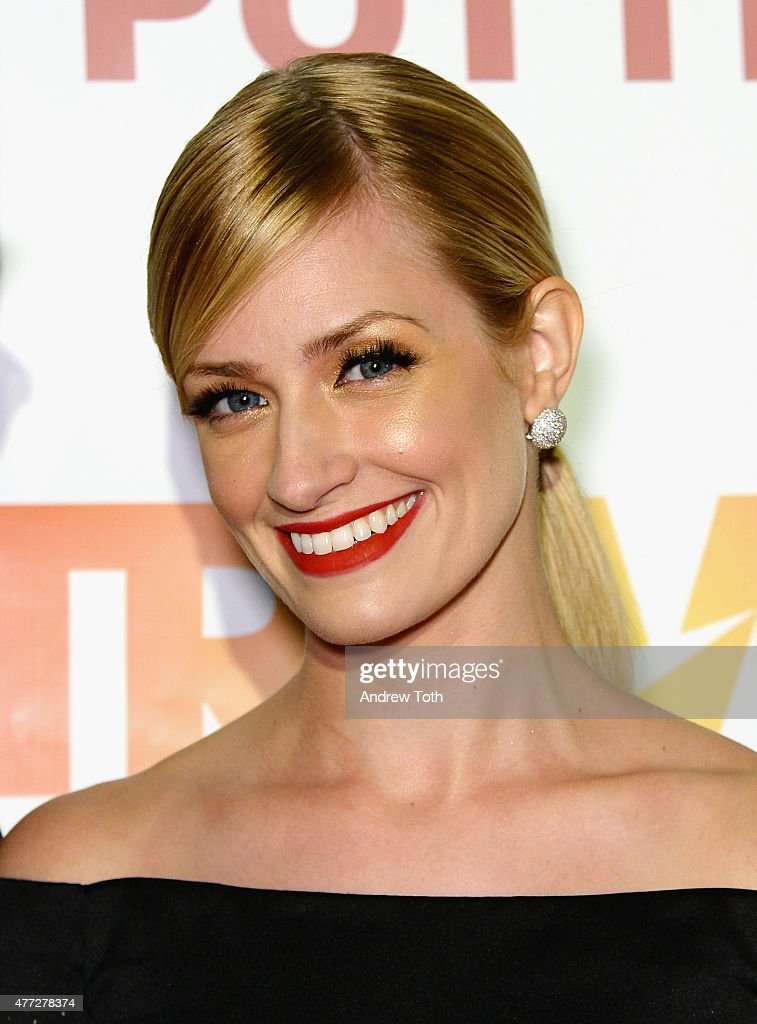 Actress <a gi-track='captionPersonalityLinkClicked' href=/galleries/search?phrase=Beth+Behrs&family=editorial&specificpeople=6556378 ng-click='$event.stopPropagation()'>Beth Behrs</a> attends TrevorLIVE New York 2015 at Marriott Marquis Hotel on June 15, 2015 in New York City.