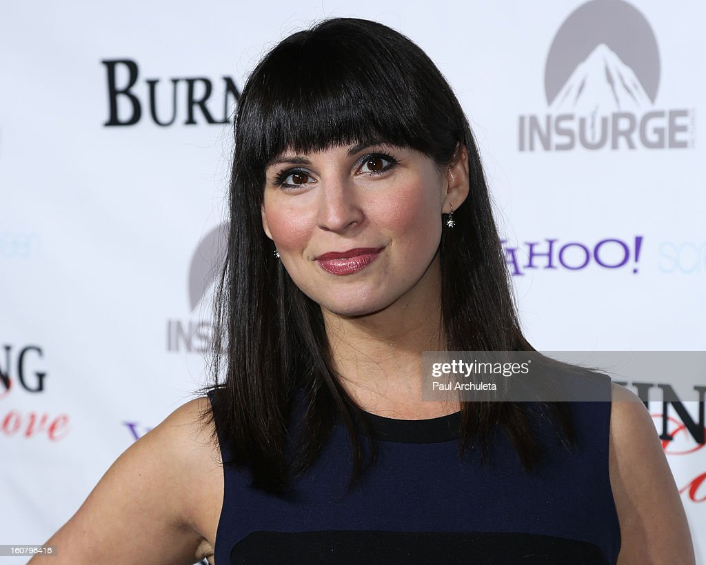 Actress Beth Dover attends the 'Burning Love' Season 2 Los Angeles Premiere at Paramount Theater on the Paramount Studios lot on February 5, 2013 in Hollywood, California.