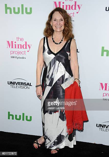 Actress Beth Grant attends the 100th episode celebration of 'The Mindy Project' at EP LP on September 9 2016 in West Hollywood California