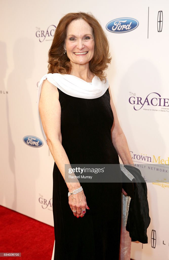 Actress <a gi-track='captionPersonalityLinkClicked' href=/galleries/search?phrase=Beth+Grant&family=editorial&specificpeople=2337985 ng-click='$event.stopPropagation()'>Beth Grant</a> attends the 41st Annual Gracie Awards at Regent Beverly Wilshire Hotel on May 24, 2016 in Beverly Hills, California.