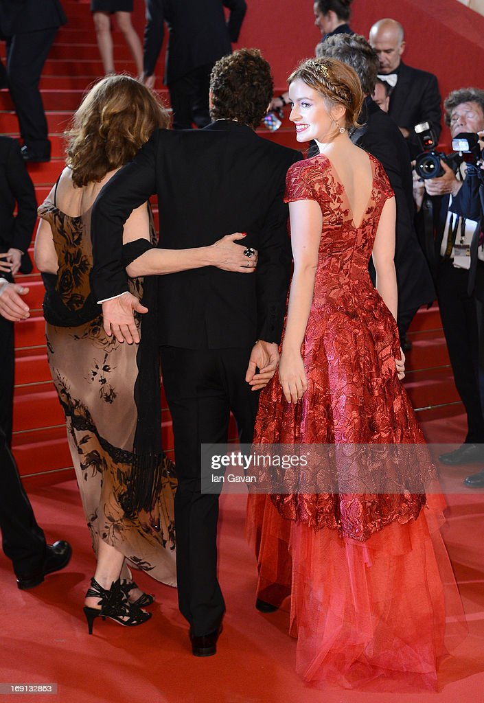Actress Beth Grant, director James Franco and actress Ahna O'Reilly attend the 'As I Lay Dying' Premiere during the 66th Annual Camnes Film Festival at the Palais des Festivals on May 20, 2013 in Cannes, France.