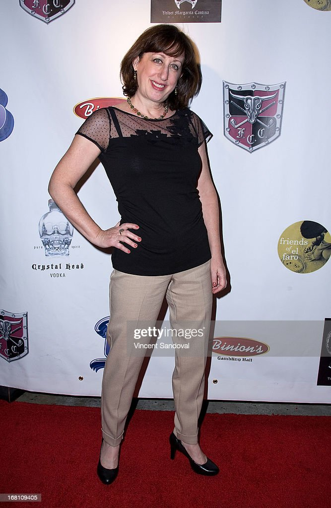 Actress Beth Hall attends the 10th annual anniversary and Cinco De Mayo benefit with annual Charity Celebrity Poker Tournament at Velvet Margarita on May 4, 2013 in Hollywood, California.