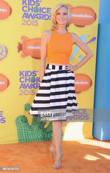 Actress Beth Littleford arrives at Nickelodeon's 28th Annual Kids' Choice Awards at The Forum on March 28 2015 in Inglewood California