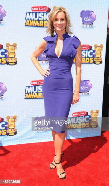 Actress Beth Littleford arrives at the 2014 Radio Disney Music Awards at Nokia Theatre LA Live on April 26 2014 in Los Angeles California