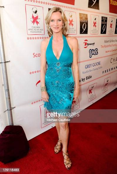 Actress Beth Littleford arrives at The Ninth Annual Night Of Comedy Benefitting The Children Affected by AIDS Foundation at the Saban Theatre on...