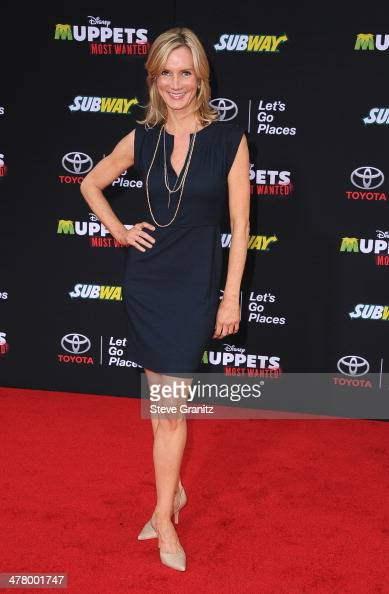 Actress Beth Littleford arrives for Disney's 'Muppets Most Wanted' Los Angeles Premiere at the El Capitan Theatre on March 11 2014 in Hollywood...