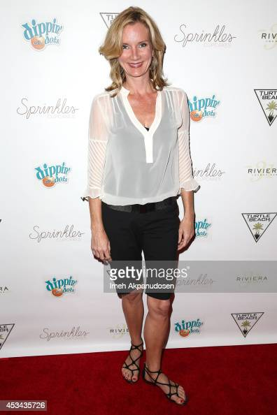 Actress Beth Littleford attends Blake Michael's 18th Birthday at Riviera 31 on August 9 2014 in Beverly Hills California