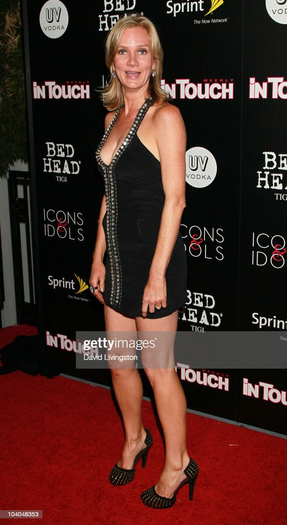 Actress Beth Littleford attends In Touch Weekly's annual 'Icons Idols' celebration at Bar Marmont on September 12 2010 in West Hollywood California