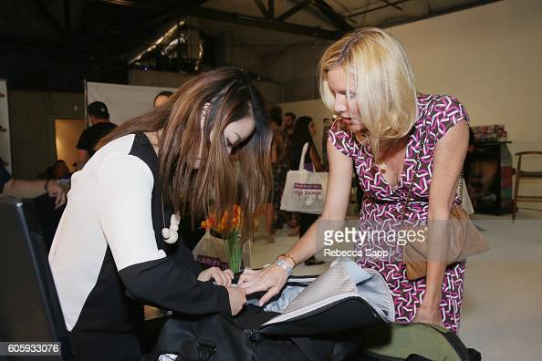 Actress Beth Littleford attends Kari Feinstein's Style Lounge at Siren Studios on September 15 2016 in Hollywood California