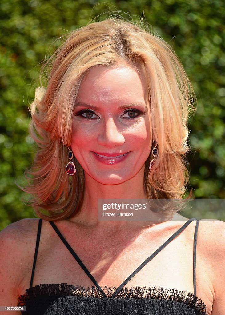 Actress Beth Littleford attends the 2014 Creative Arts Emmy Awards at Nokia Theatre LA Live on August 16 2014 in Los Angeles California