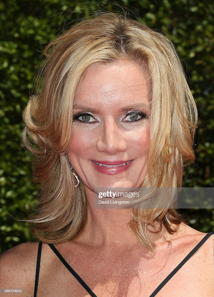 Actress Beth Littleford attends the 2014 Creative Arts Emmy Awards at the Nokia Theatre LA Live on August 16 2014 in Los Angeles California