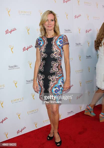 Actress Beth Littleford attends the Television Academy's cocktail reception to celebrate the 67th Emmy Awards at The Montage Beverly Hills on August...