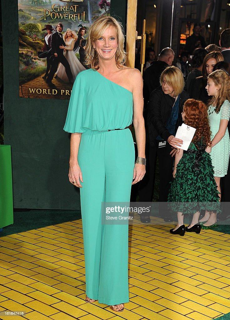 Actress Beth Littleford attends the world premiere of Disney's 'OZ The Great And Powerful' at the El Capitan Theatre on February 13 2013 in Hollywood...