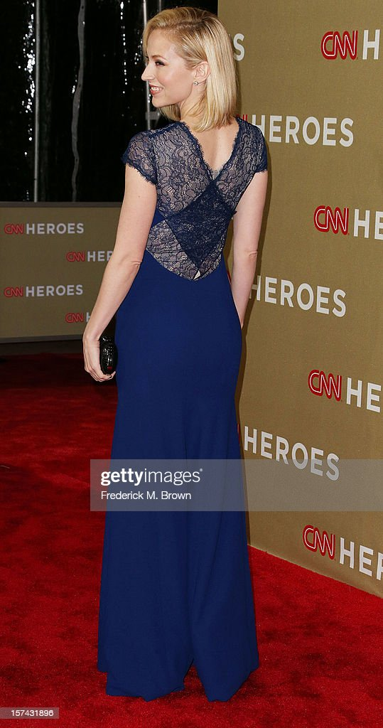 Actress Beth Reisgraf attends the CNN Heroes: An All Star Tribute at The Shrine Auditorium on December 2, 2012 in Los Angeles, California.