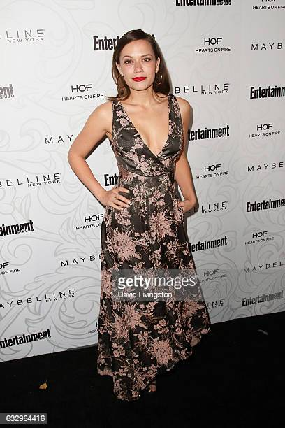 Actress Bethany Joy Lenz arrives at the Entertainment Weekly celebration honoring nominees for The Screen Actors Guild Awards at the Chateau Marmont...
