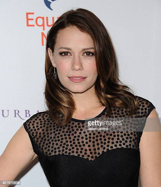 Actress Bethany Joy Lenz attends Equality Now's 3rd annual 'Make Equality Reality' gala at Montage Beverly Hills on December 5 2016 in Beverly Hills...