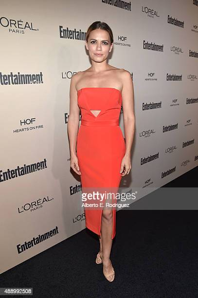 Actress Bethany Joy Lenz attends the 2015 Entertainment Weekly PreEmmy Party at Fig Olive Melrose Place on September 18 2015 in West Hollywood...