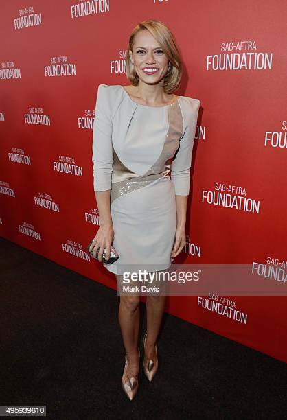 Actress Bethany Joy Lenz attends the Screen Actors Guild Foundation 30th Anniversary Celebration at Wallis Annenberg Center for the Performing Arts...