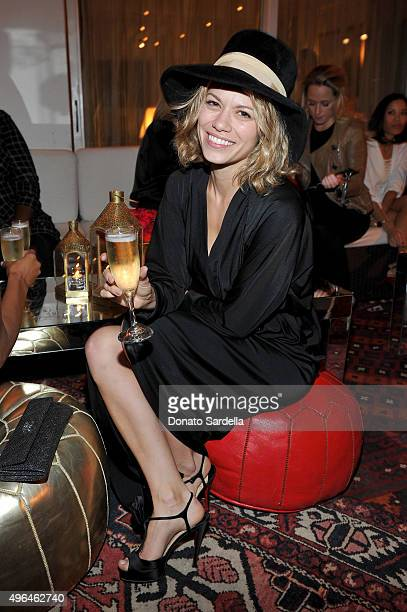 Actress Bethany Joy Lenz attends Tracy Margolies Saks Fifth Avenue and Rosetta Getty host Christian Louboutin at Chateau Marmont on November 9 2015...