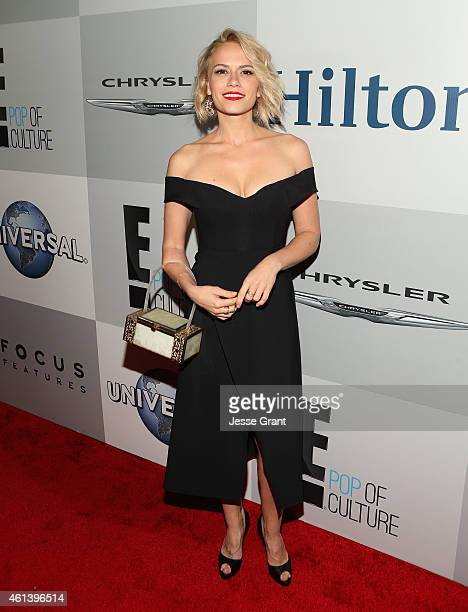 Actress Bethany Joy Lenz attends Universal NBC Focus Features and E Entertainment 2015 Golden Globe Awards After Party sponsored by Chrysler and...