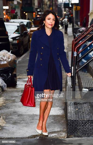 Actress Bethenny Frankel is seen on March 28 2017 in New York City