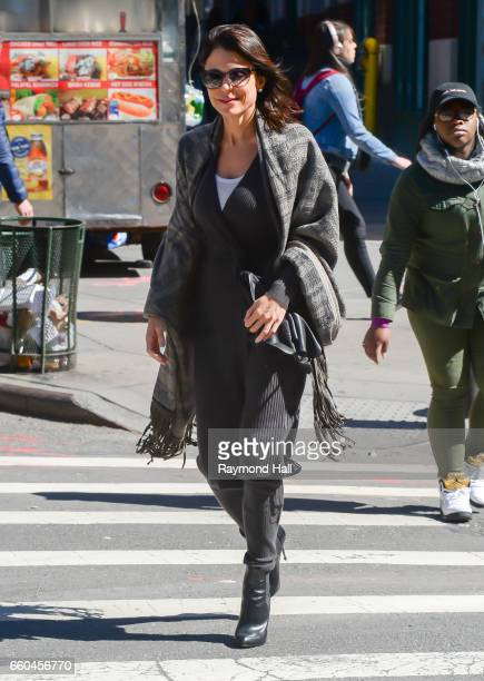 Actress Bethenny Frankel seen out in Manhattan on March 29 2017 in New York City