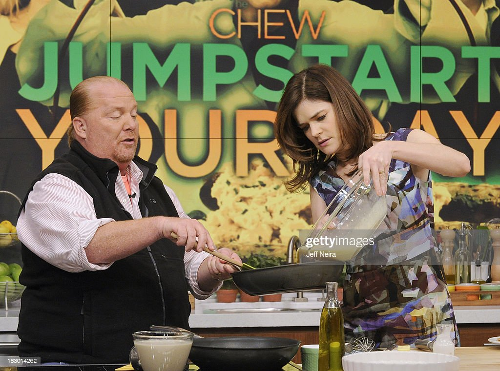 THE CHEW - Actress Betsy Brandt ('Breaking Bad') appeared today, Thursday, October 3, 2013 on ABC's 'The Chew.' 'The Chew' airs MONDAY - FRIDAY (1-2pm, ET) on the ABC Television Network. BRANDT