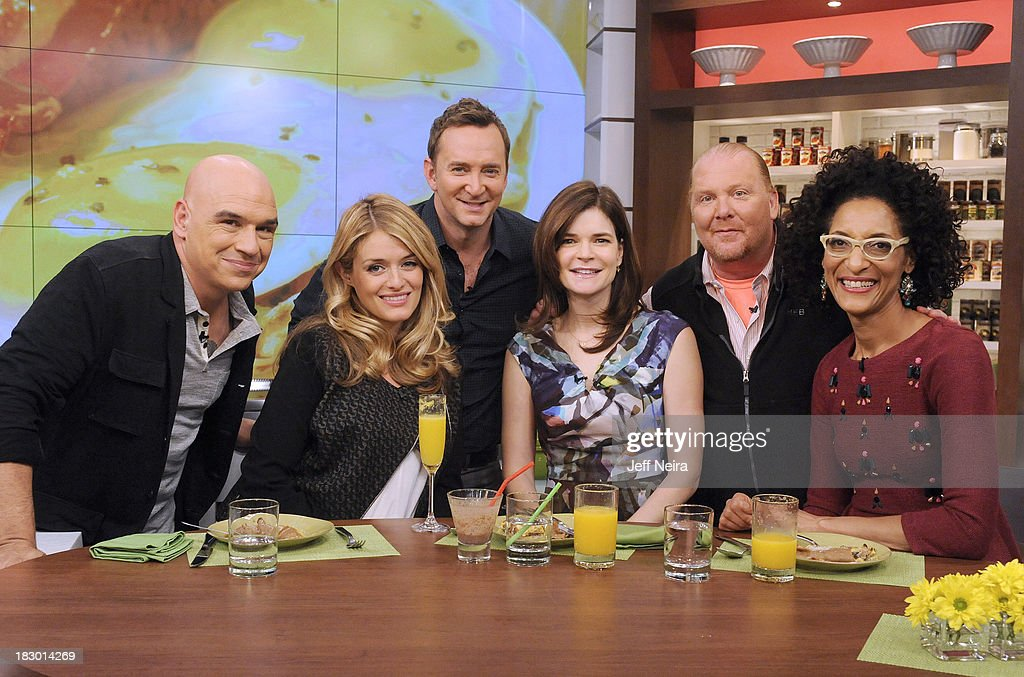 THE CHEW - Actress Betsy Brandt ('Breaking Bad') appeared today, Thursday, October 3, 2013 on ABC's 'The Chew.' 'The Chew' airs MONDAY - FRIDAY (1-2pm, ET) on the ABC Television Network. HALL