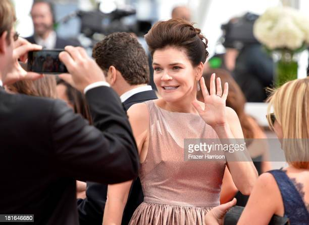 Actress Betsy Brandt arrives at the 65th Annual Primetime Emmy Awards held at Nokia Theatre LA Live on September 22 2013 in Los Angeles California