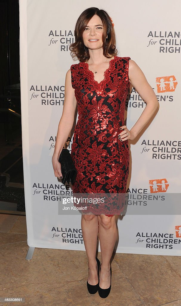 Actress <a gi-track='captionPersonalityLinkClicked' href=/galleries/search?phrase=Betsy+Brandt&family=editorial&specificpeople=4819893 ng-click='$event.stopPropagation()'>Betsy Brandt</a> arrives at The Alliance For Children's Rights 22nd Annual Dinner at The Beverly Hilton Hotel on April 7, 2014 in Beverly Hills, California.