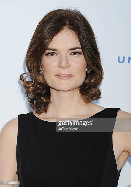 Actress Betsy Brandt arrives at the Television Academy's 66th Emmy Awards Performance Nominee Reception at the Pacific Design Center on Saturday Aug...