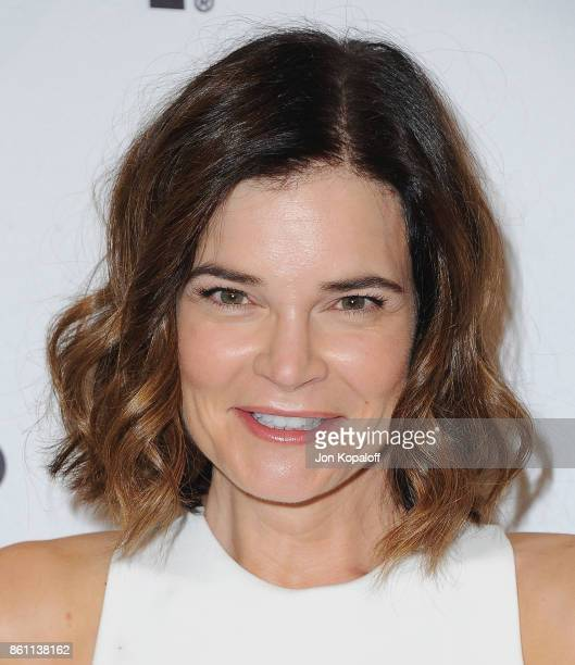 Actress Betsy Brandt arrives at Variety's Power Of Women Los Angeles at the Beverly Wilshire Four Seasons Hotel on October 13 2017 in Beverly Hills...