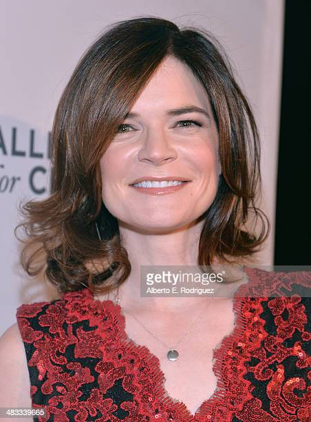 Actress Betsy Brandt arrives to The Alliance for Children's Rights 22nd Annual Dinner at The Beverly Hilton Hotel on April 7 2014 in Beverly Hills...