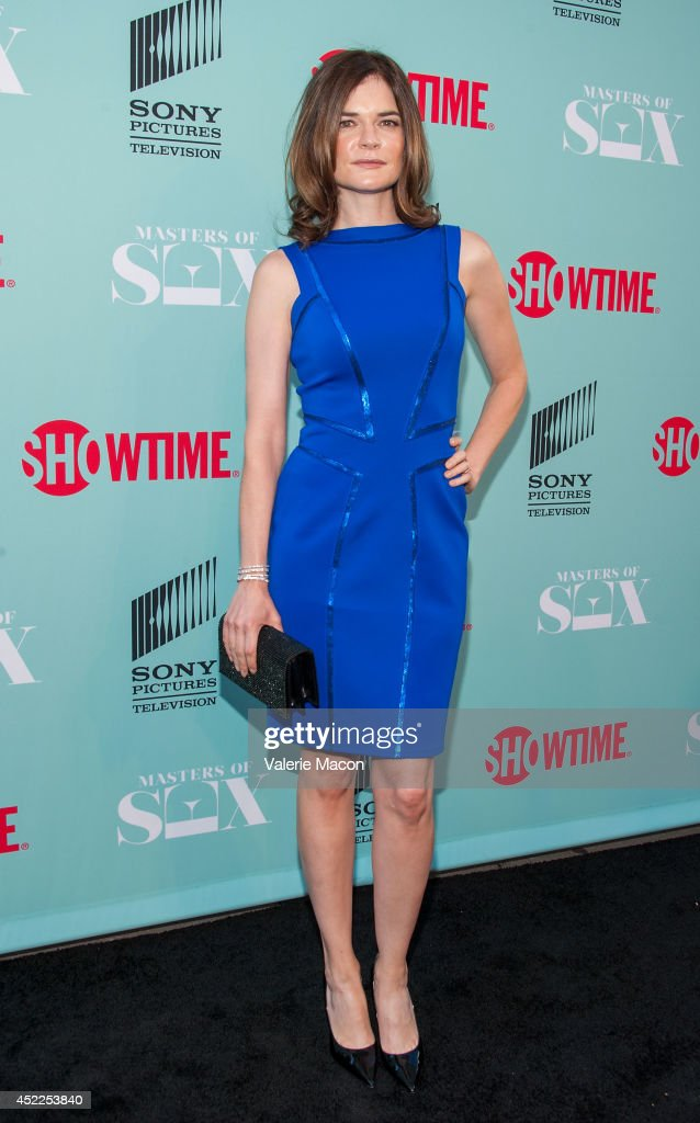 Actress <a gi-track='captionPersonalityLinkClicked' href=/galleries/search?phrase=Betsy+Brandt&family=editorial&specificpeople=4819893 ng-click='$event.stopPropagation()'>Betsy Brandt</a> attends Showtime's 'Masters Of Sex' Season 2 - 2014 Summer TCA Press Tour Event at Sony Pictures Studios on July 16, 2014 in Culver City, California.