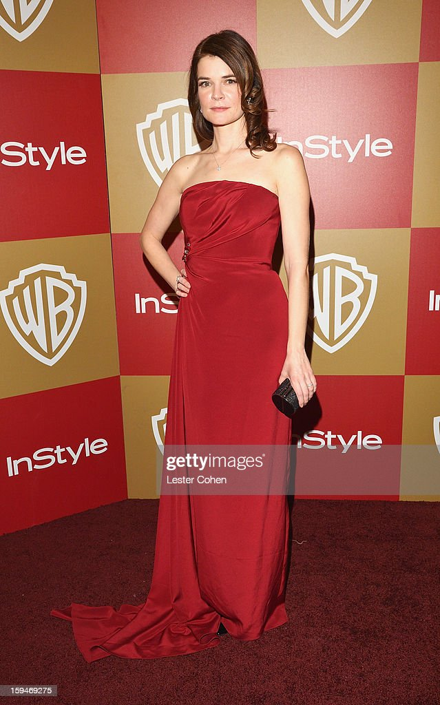 Actress Betsy Brandt attends the 2013 InStyle and Warner Bros. 70th Annual Golden Globe Awards Post-Party held at the Oasis Courtyard in The Beverly Hilton Hotel on January 13, 2013 in Beverly Hills, California.