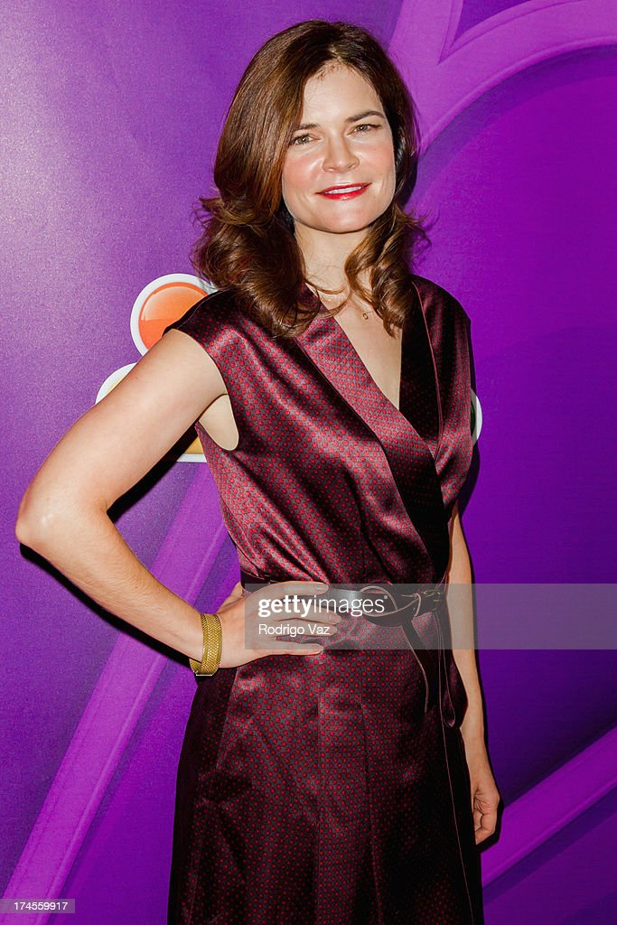 Actress <a gi-track='captionPersonalityLinkClicked' href=/galleries/search?phrase=Betsy+Brandt&family=editorial&specificpeople=4819893 ng-click='$event.stopPropagation()'>Betsy Brandt</a> attends the 2013 Television Critic Association's Summer Press Tour - NBC Party at The Beverly Hilton Hotel on July 27, 2013 in Beverly Hills, California.
