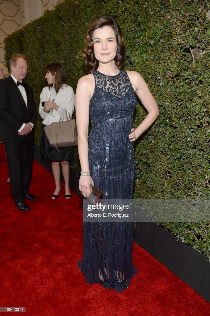 Actress <a gi-track='captionPersonalityLinkClicked' href=/galleries/search?phrase=Betsy+Brandt&family=editorial&specificpeople=4819893 ng-click='$event.stopPropagation()'>Betsy Brandt</a> attends the 2014 Writers Guild Awards L.A. Ceremony at J.W. Marriott at L.A. Live on February 1, 2014 in Los Angeles, California.