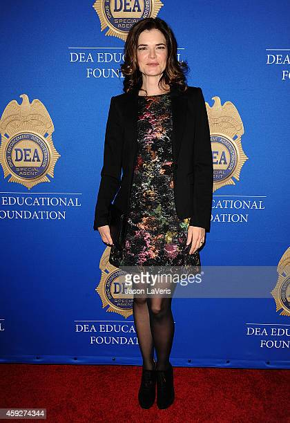 Actress Betsy Brandt attends the Drug Enforcement Administration Educational Foundation gala honoring 'Breaking Bad' at The Beverly Hilton Hotel on...