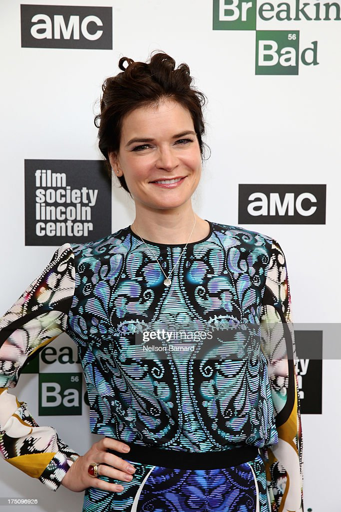 Actress <a gi-track='captionPersonalityLinkClicked' href=/galleries/search?phrase=Betsy+Brandt&family=editorial&specificpeople=4819893 ng-click='$event.stopPropagation()'>Betsy Brandt</a> attends The Film Society of Lincoln Center and AMC Celebration of 'Breaking Bad' Final Episodes at The Film Society of Lincoln Center, Walter Reade Theatre on July 31, 2013 in New York City.