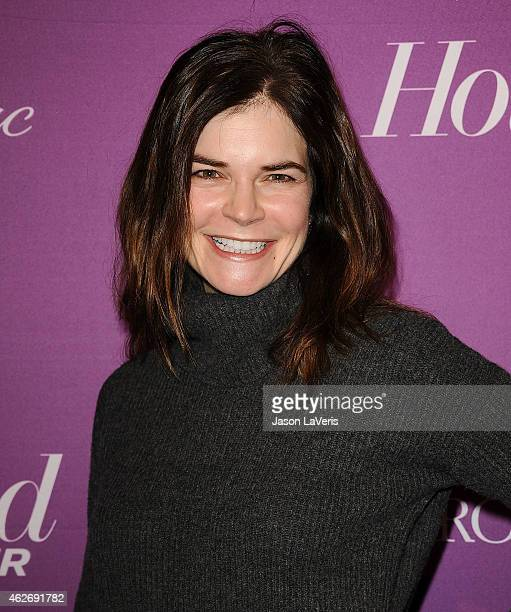 Actress Betsy Brandt attends the Hollywood Reporter's 3rd annual Academy Awards nominees night at Spago on February 2 2015 in Beverly Hills California