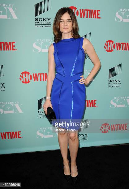 Actress Betsy Brandt attends the 'Master of Sex' TCA event at Sony Pictures Studios on July 16 2014 in Culver City California